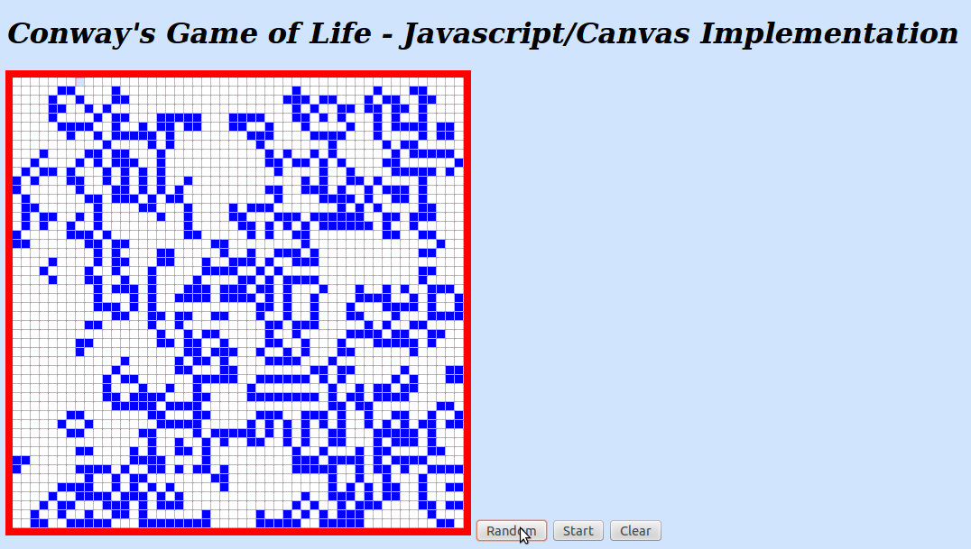 game of life javascript tutorial