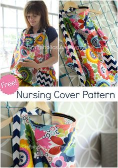 diy nursing cover tutorial